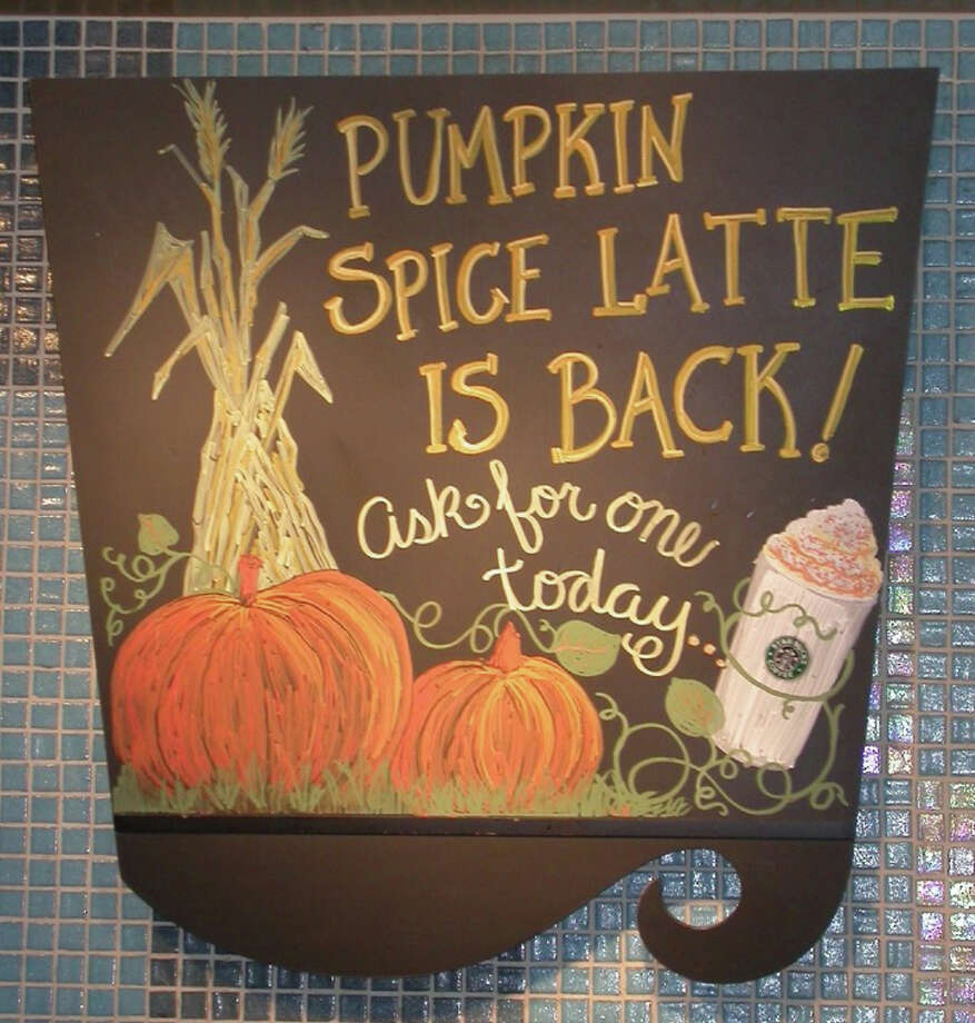 Pumpkin spice latte is back at Starbucks, and seemingly everywhere else. Photo: Contributed Photo / Connecticut Post Contributed