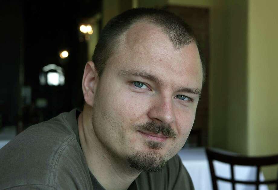 Michael Sohocki, chef and owner of Restaurant Gwendolyn.  Tuesday, July 15, 2014. Photo: BOB OWEN, San Antonio Express-News / © 2012 San Antonio Express-News