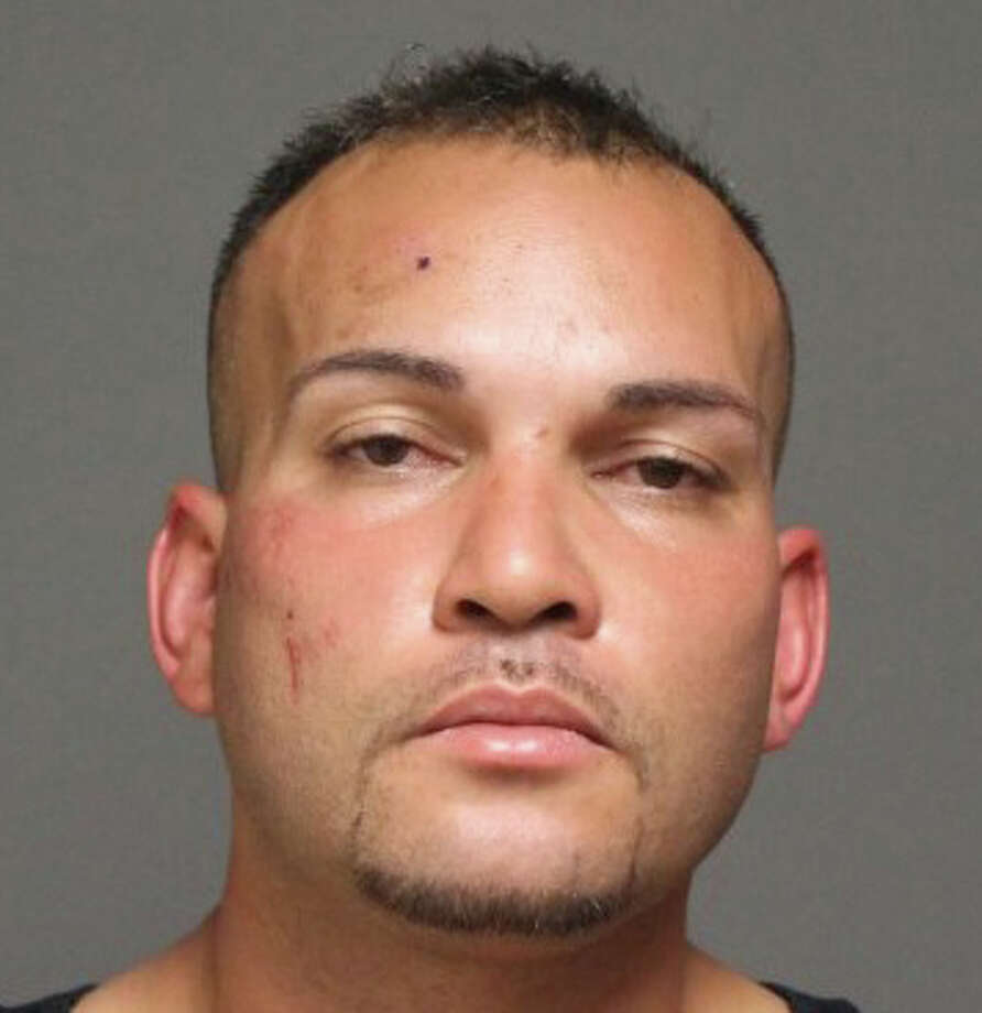 Angel M. Alvarado-Vazquez, 33, of Bridgeport, was arrested Friday night for allegedly breaking into cars. Photo: Contributed Photo /  Fairfield Citizen contributed