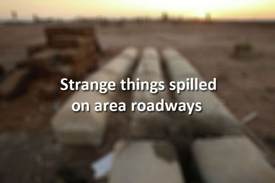Strange things often spill on area roadways. Look back at some of the most memorable. Photo: Houston Chronicle