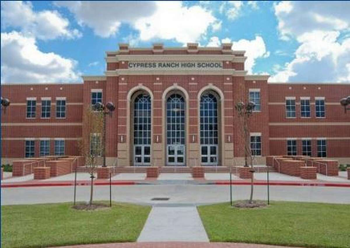 Cypress Ranch High School (Cypress) National rank: 484College readiness score: 68.35 College bound percentile: 78.02Graduation rate percentile: 51.67Poverty percentage: 15.03 Source: Newsweek