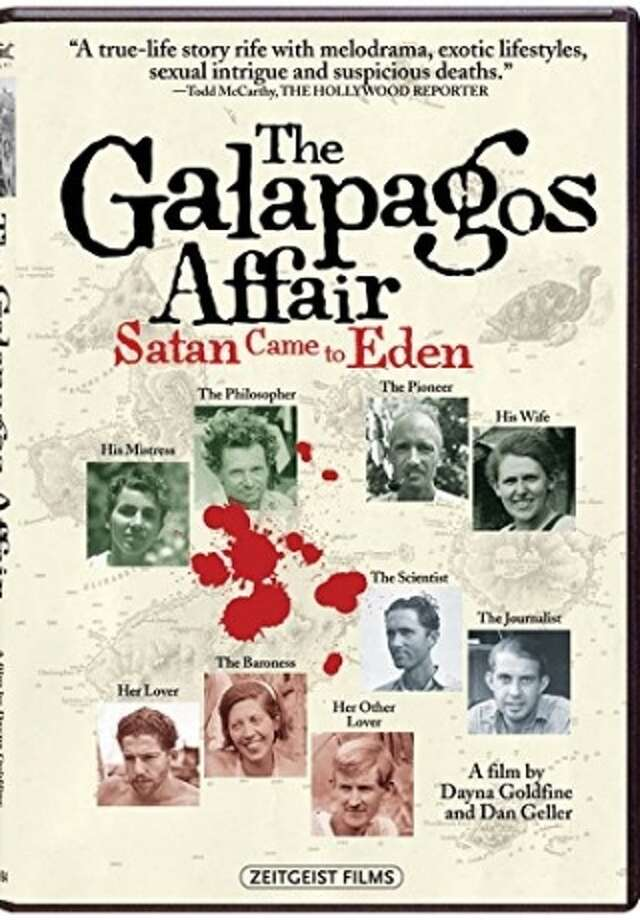 "dvd cover: ""The Galapagos Affair: Satan Came to Eden"" Photo: Zeitgeist Films / Zeitgeist Films / ONLINE_YES"