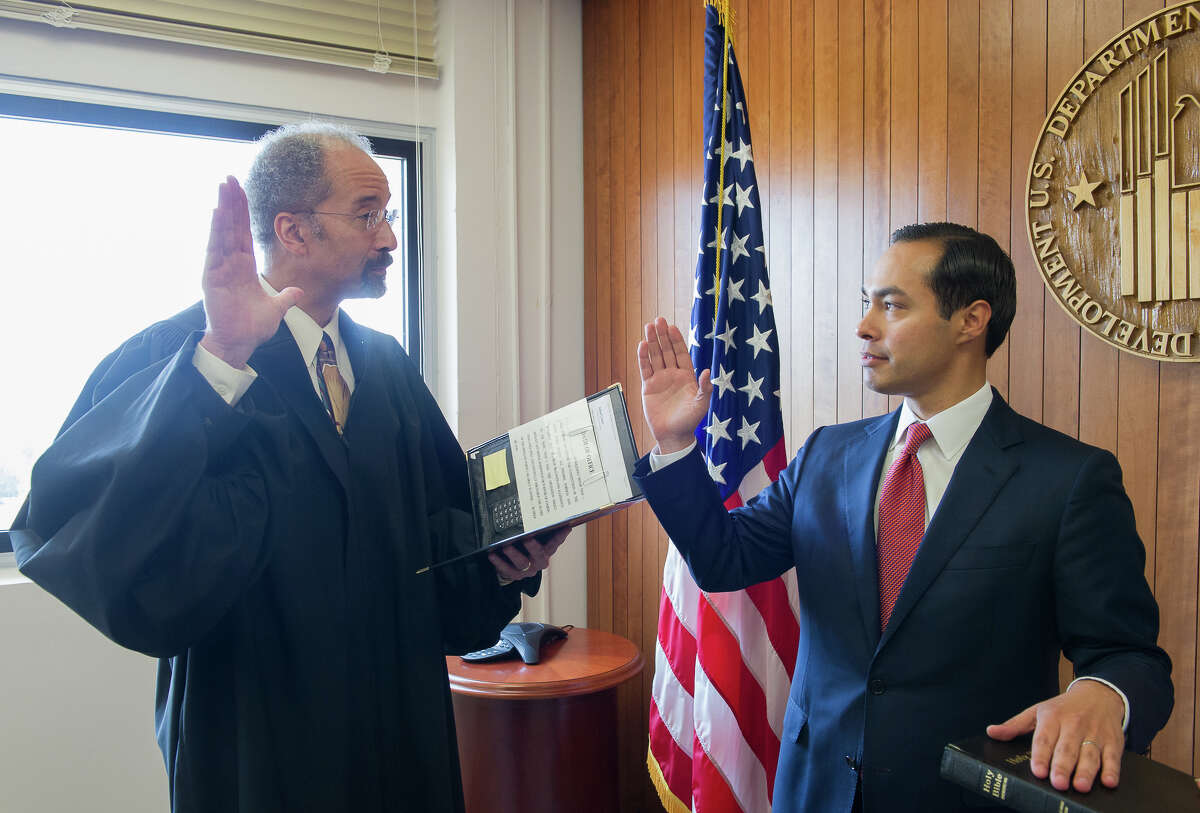 A reader criticizes Julián Castro, shown getting sworn in as the 16th secretary for the U.S. Department of Housing and Urban Development in July, for expressing a desire to make homeownership more accessible to lower-income individuals and families.