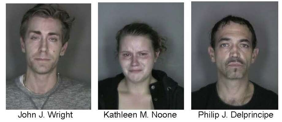 Three people are charged with robbery at an East Greenbush WalMart. (Provided by East Greenbush police)