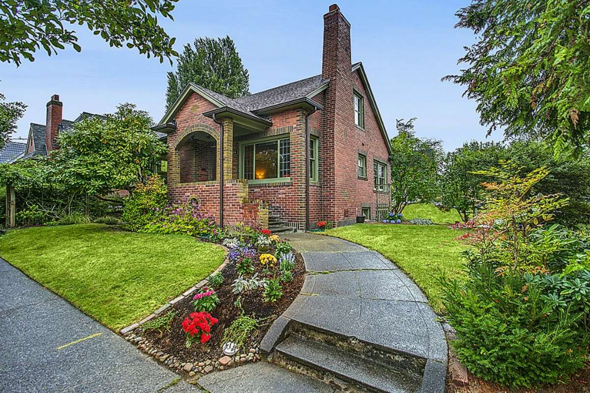 We'll start with the lowest-priced home on our tour, 8304 Mary Ave. N.W., which is listed for $549,950. The 1,930-square-foot brick Tudor, built in 1929, has three bedrooms, one bathroom, coved ceilings, mahogany moldings, picture rail, French doors and a loft room on a 3,000-square-foot lot.