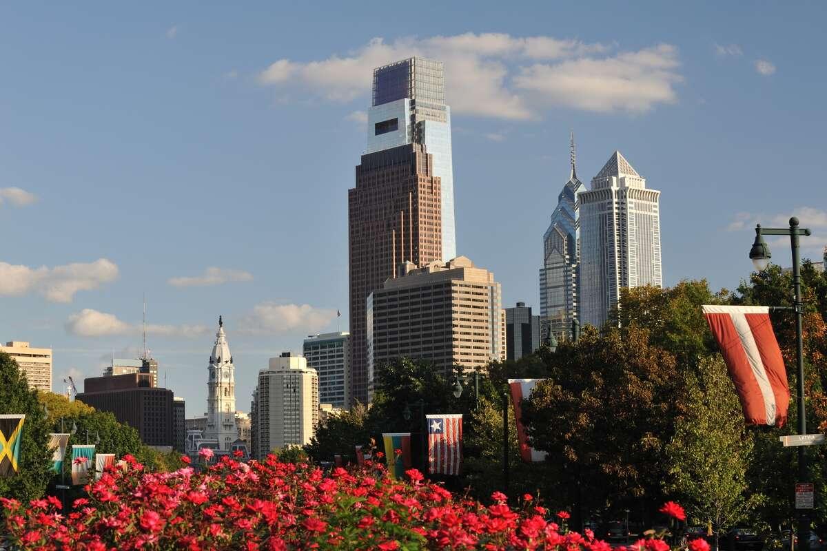 No. 9 - Philadelphia 8percent of population