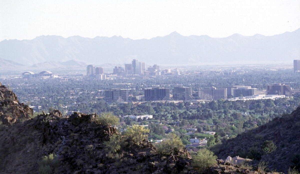 9. Arizona Population living in urban areas: 89.8% Largest city: Phoenix Population of largest city: 1.49 millionSource: 24/7 Wall St.