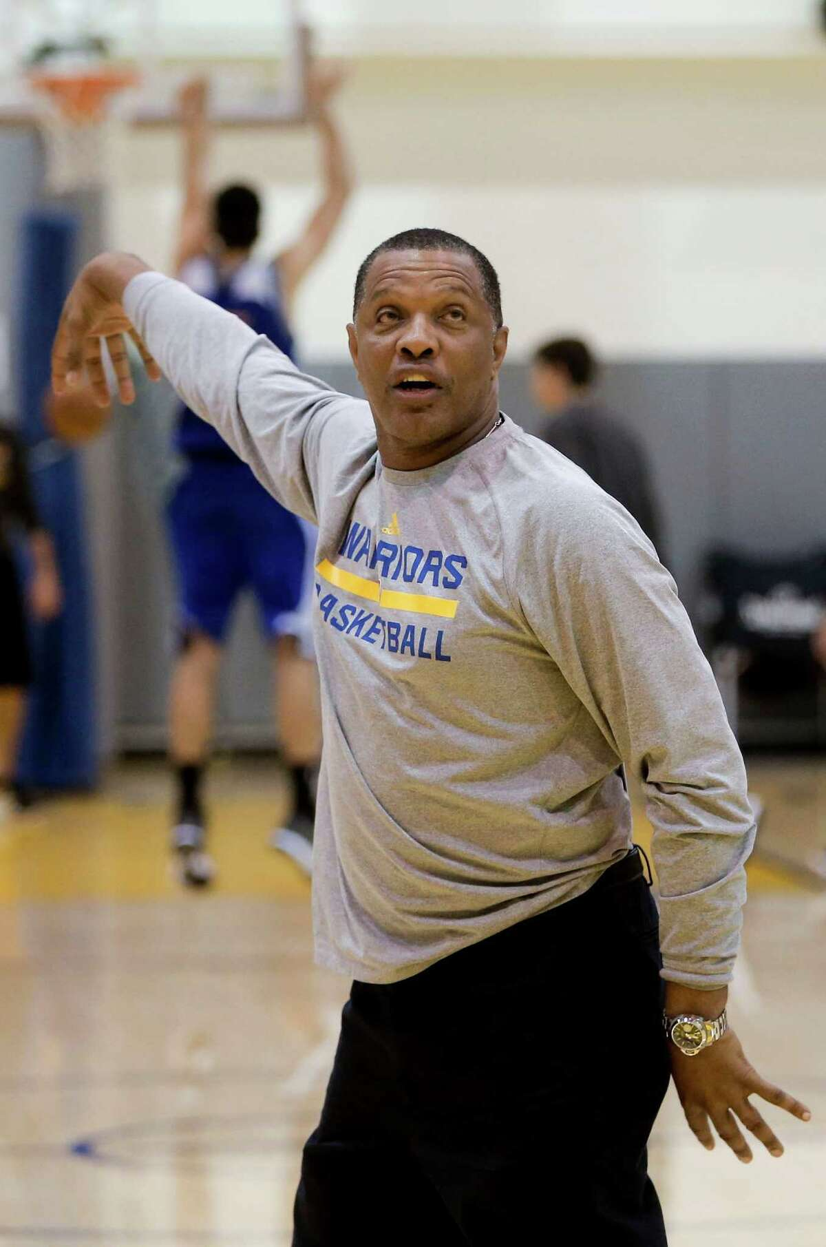 Assistant coach Alvin Gentry, who has been a head coach with four other teams, was Steve Kerr's top choice to be his lead assistant.