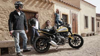 Photos: Ducati unveils new retro Scrambler - Photo