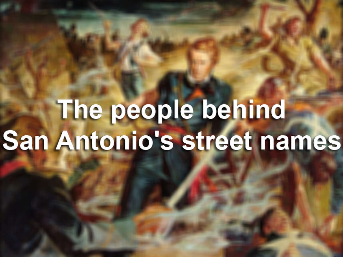 While there are some pretty common names for some of San Antonio's streets, such as Broadway and Main, others are named after people or families particular to the Alamo City's history and culture. Take a look at this gallery that offers some familiar names and a few surprises. Sources:
