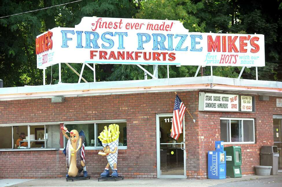 2. Mike's Hot Dogs , 1135 Erie Blvd., Schenectady