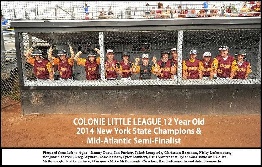 Colonie?s Little League was honored at a Sept. 14 banquet with proclamations from U.S. Rep. Paul Ton