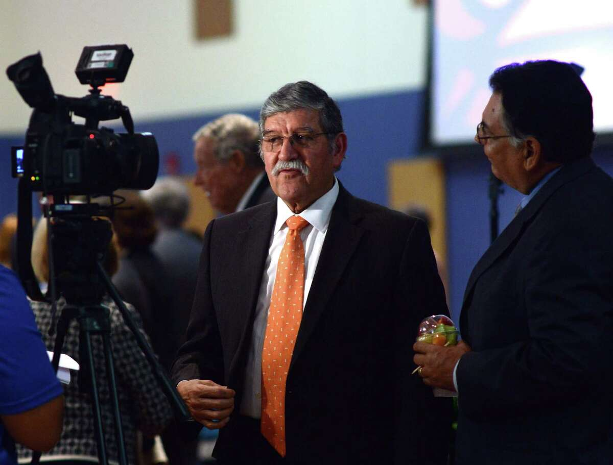UTSA President Ricardo Romo unveiled the talent-recruitment effort, called the