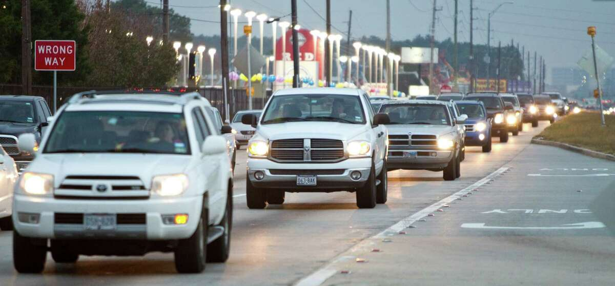 Among the busy highways in the area is Texas 249. One estimate puts congestion's cost in Texas at $10.8 billion a year.