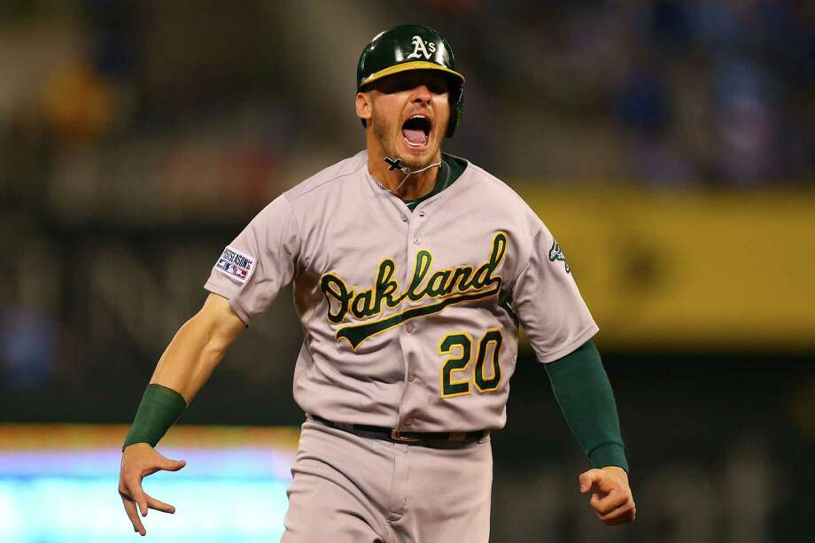 Josh Donaldson, who was traded to the Toronto Blue Jays in the offseason, was awarded $4.3 million Friday by the panel of Steven Wolf, Robert Herzog and Gary Kendellen rather than the $5.75 million he sought in arbitration. Photo: Dilip Vishwanat / Getty Images / 2014 Getty Images