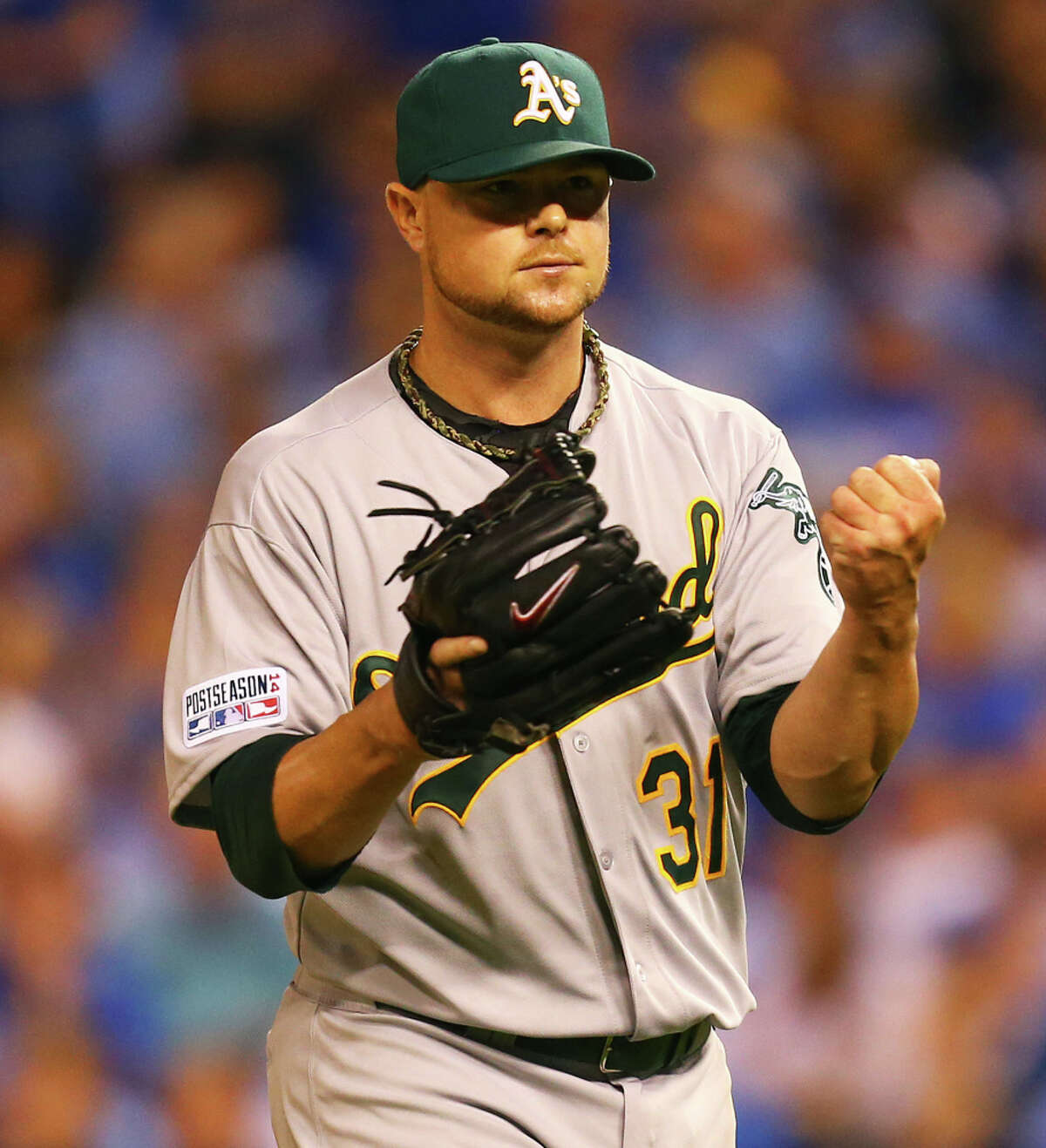 Jon Lester will meet with the San Francisco Giants next week.