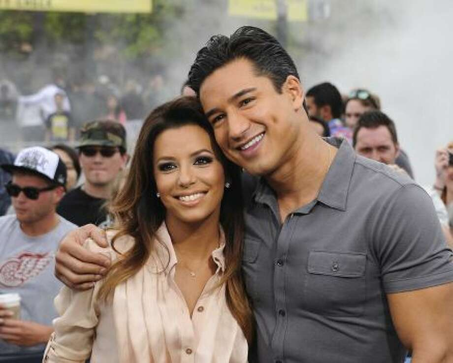 Eva Longoria and Mario Lopez co-hosted the ALMAS recently. Photo: Getty