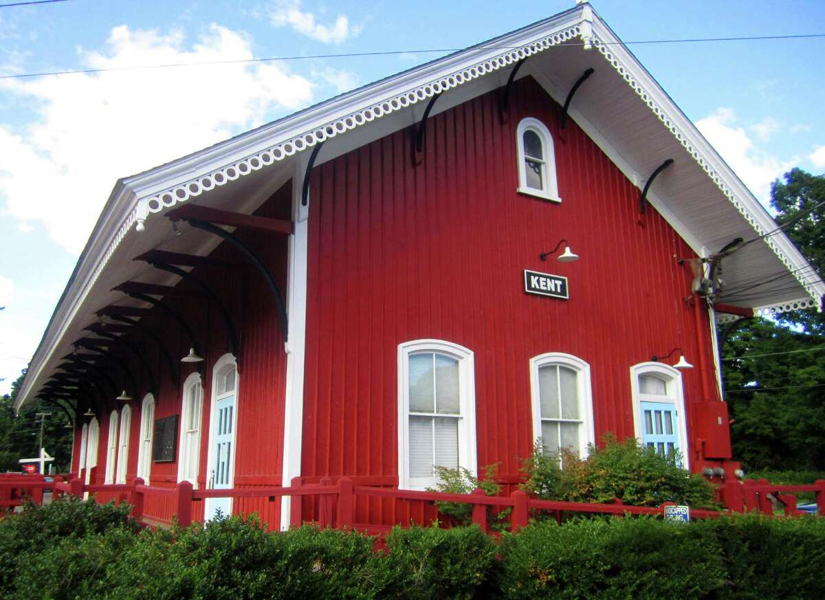 The historic Kent railroad station is among the many symbols of the town's longevity as it celebrates its 275th birthday this year. October 2014