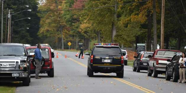 Skidmore College was locked down Wednesday morning as police searched for a man wanted in connection with an abduction and sexual assault in Rensselaer County. The man, 25-year-old Shane Harding, was taken into custody shortly before 8 a.m. (Skip Dickstein / Times Union)