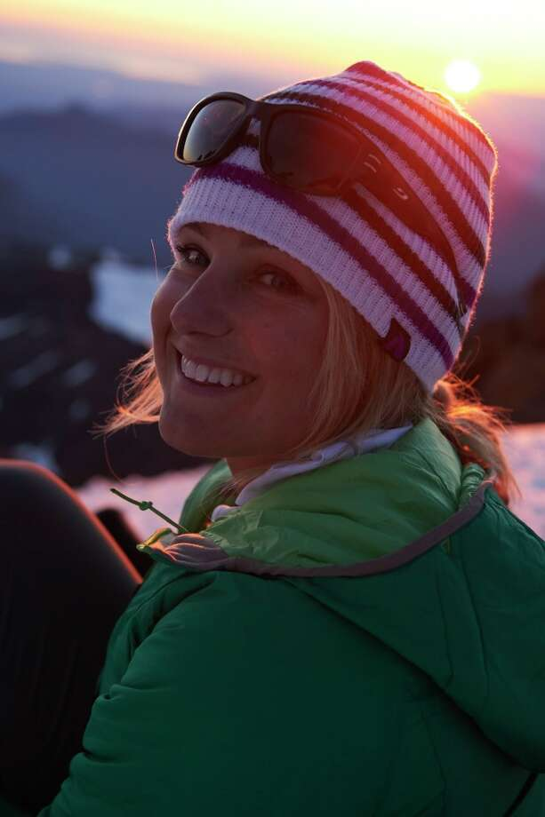 Professional mountain climber Liz Daley. Photo from Eddie Bauer. / COPYRIGHTED_scottrinck.com