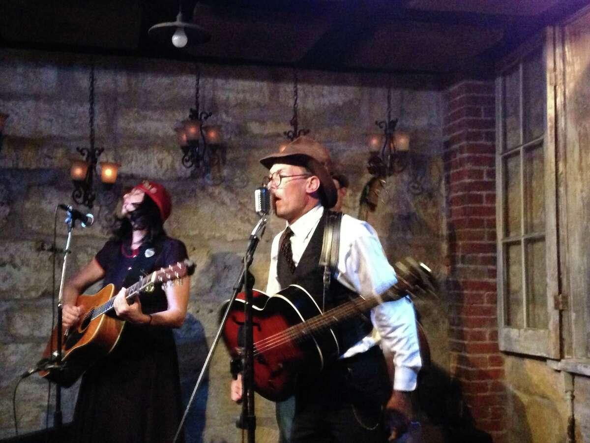 Musicians Maria Moss and Jon Hogan display an earnest belief that a song is a timeless narrative device.