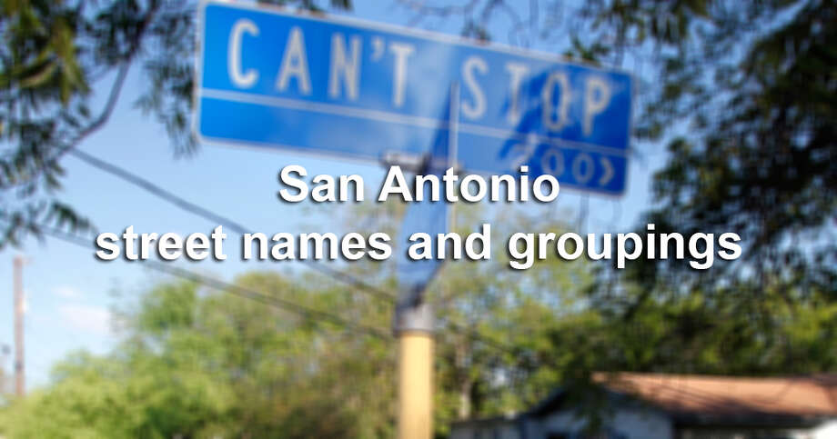 "We did a little research to see what odd street names and street name groupings we could come up with — we polled the Express-News newsroom, read through the book ""Place Names of San Antonio"" by David P. Green and found a forum on City-data.com — and here are 15 of the most interesting. If we've missed your street or subdivision, please leave a comment below and let us know. Photo: San Antonio Express-News"
