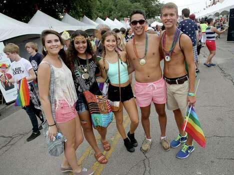 Houston Lgbt Gay Pride Parade - Houston, Texas -