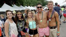 6/28/14: People attend the Gay Pride activities in Houston, Texas.  (Photo: Thomas B. Shea/For the Chronicle)