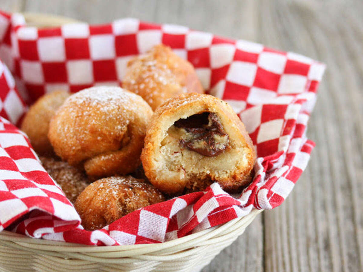Fried Cookie Dough With only three ingredients, this extra-indulgent treat couldn't be easier to make. Get the recipe at Kirbie's Cravings. RELATED: The 9 biggest mistakes you make baking cookies