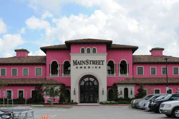 MainStreet America painted its 44,000-square-foot building pink for its #PinkStreet campaign in support of Breast Cancer Awareness Month.