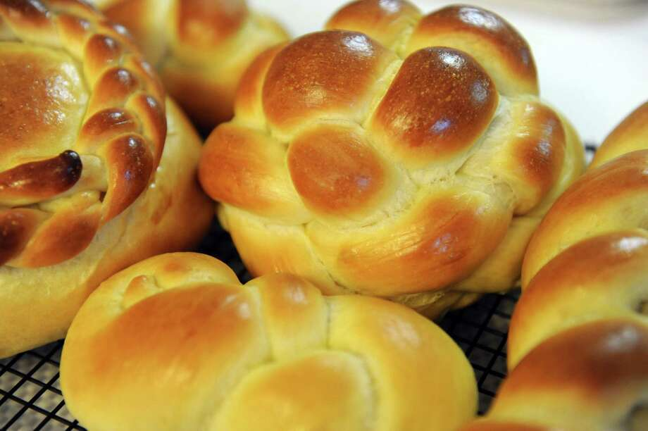 Challah bread made by Cecile Kowalski on Friday Sept. 26, 2014,at her home in Selkirk, N.Y.  (Michael P. Farrell/Times Union) Photo: Michael P. Farrell / 00028757A