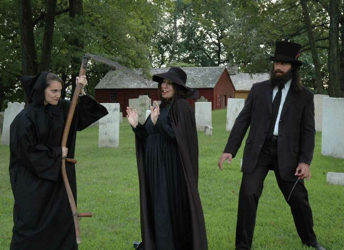 Meet Nelson Taylor, a troubled spirit from South Norwalk, Jacob Nash, a Revolutionary War soldier who met his demise during the Burning of Norwalk and others from Norwalk's colorful past this Friday and Saturday. Find out more.