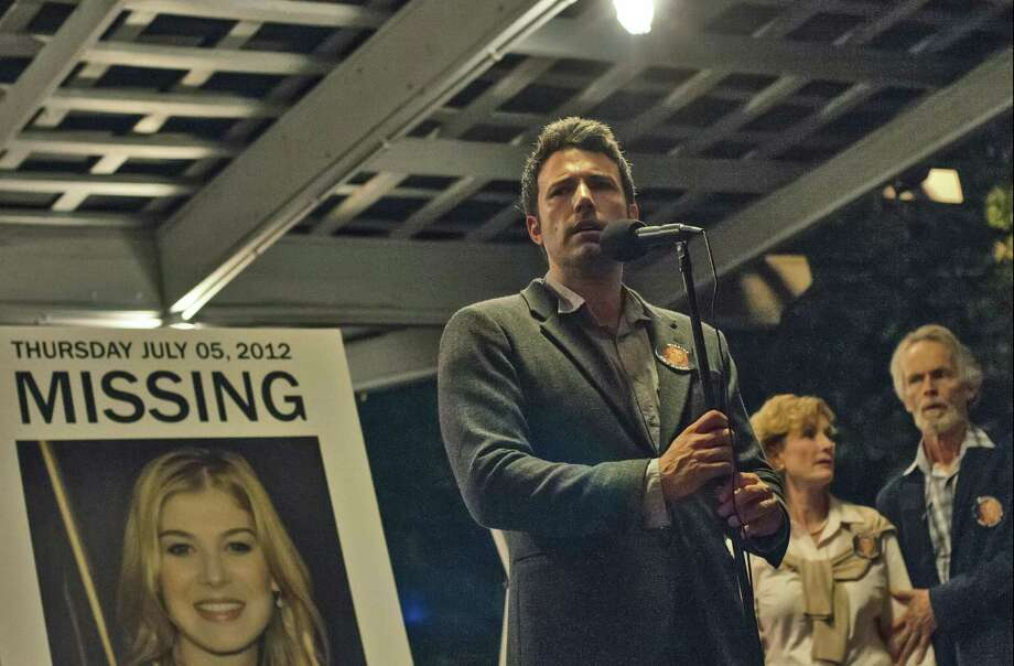 "This image released by 20th Century Fox shows Ben Affleck in a scene from ""Gone Girl."" The 20th Century Fox thriller, which stars Ben Affleck and Rosamund Pike, will premiere in theaters on October 3. (AP Photo/20th Century Fox, Merrick Morton) ORG XMIT: NYET112 Photo: Merrick Morton / 20th Century Fox"