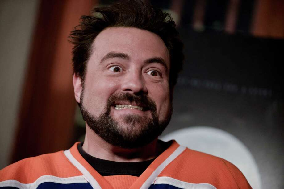"Kevin Smith arrives at the LA Premiere Of ""Tusk"" on Tuesday, Sept. 16, 2014, in Los Angeles. (Photo by Richard Shotwell/Invision/AP) ORG XMIT: CAPS107 Photo: Richard Shotwell / Invision"