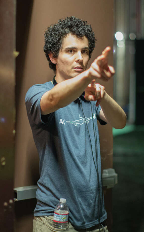 """Director Damien Chazelle on the """"Whiplash"""" set. Photo: Sony Classics / Sony Classics / ONLINE_YES"""