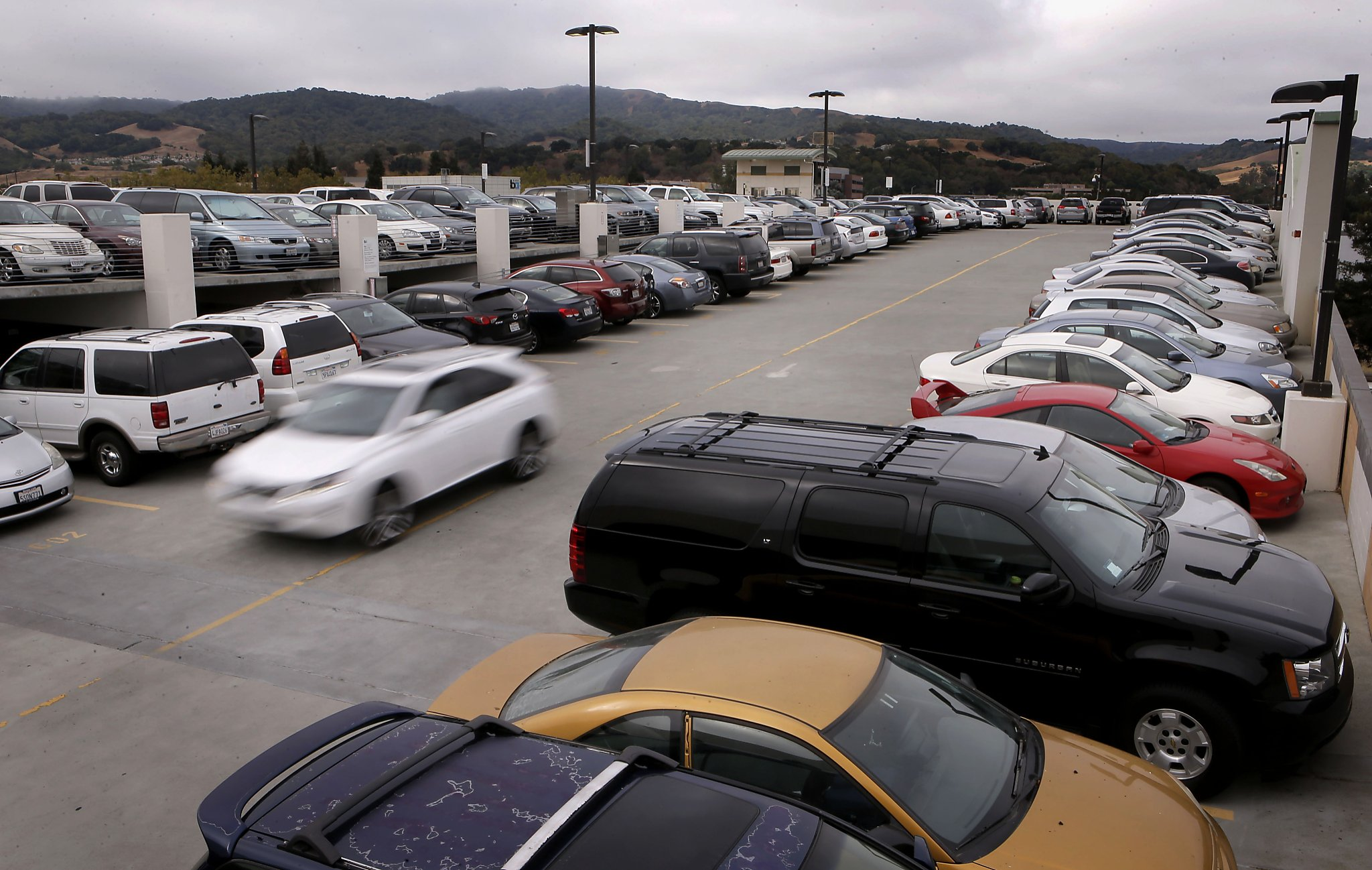 Bart s parking problem maddening search when lots are for Garage ww auto