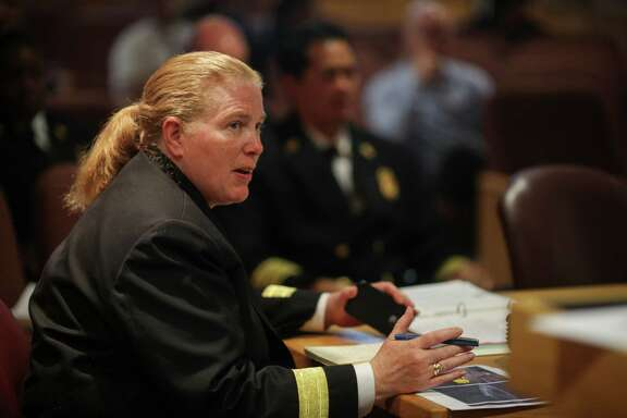 Fire Chief Joanne Hayes-White.