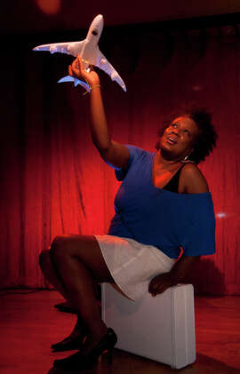 """San Francisco writer-director-actor-teacher Edris Cooper- Anifowoshe presents the second in a proposed trilogy of solo shows, """"Adventures of a Black Girl: Traveling While Black."""""""