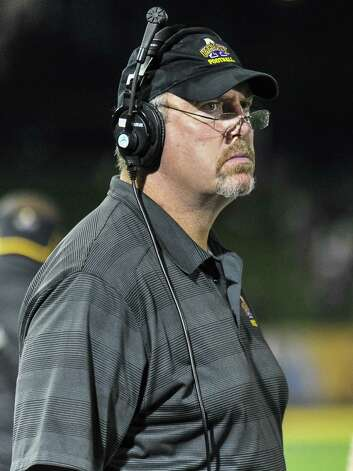 Jim Sweeney had a 16-year NFL career with the Jets, Seahawks and Steelers. He says he's enjoying his time as the offensive line coach at UAlbany much more than when he played. (Bill Ziskin / Special to the Times Union) Photo: Bill Ziskin / Copyright Bill Ziskin, all rights reserved.