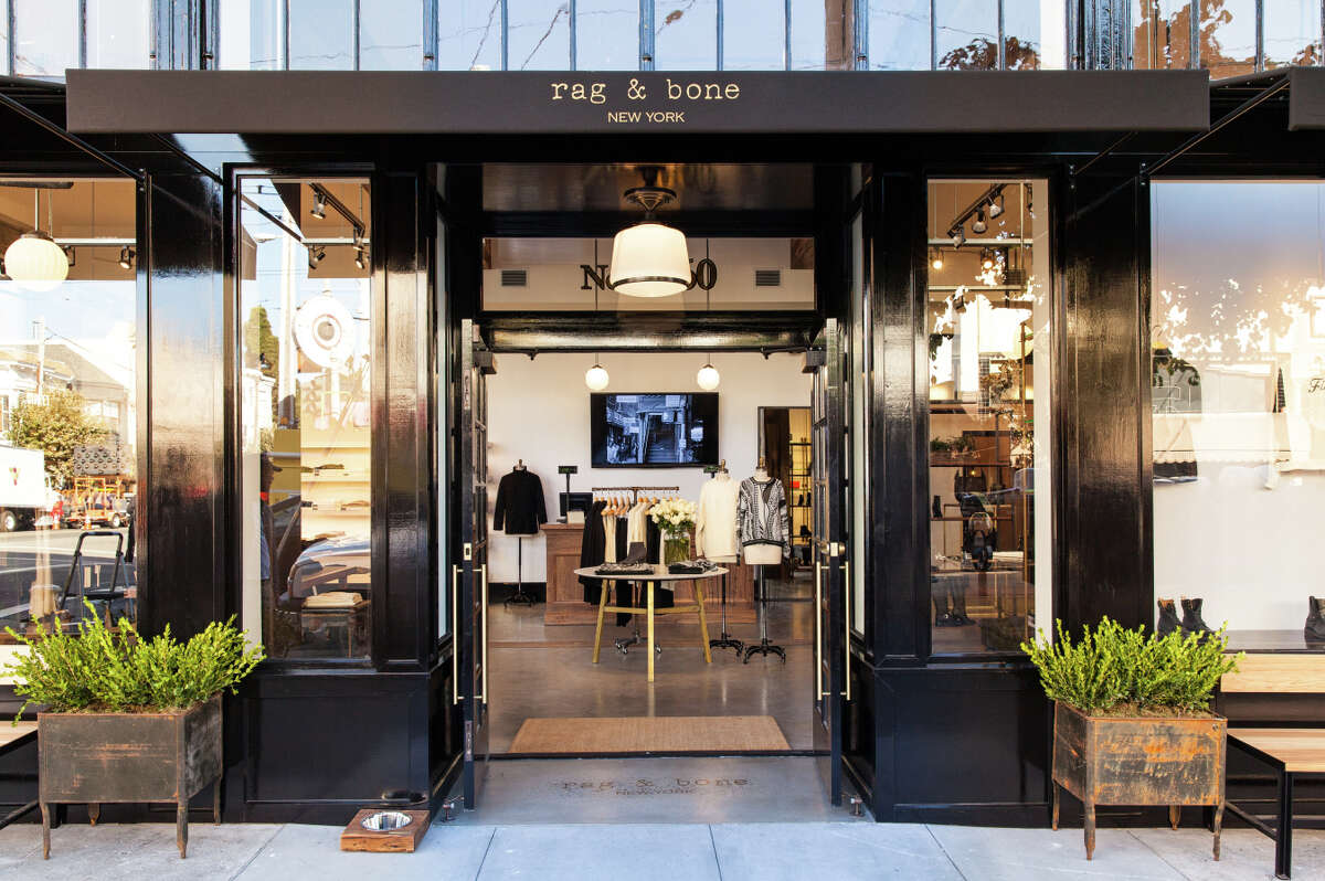 The Rag & Bone store at Fillmore and California streets in S.F.