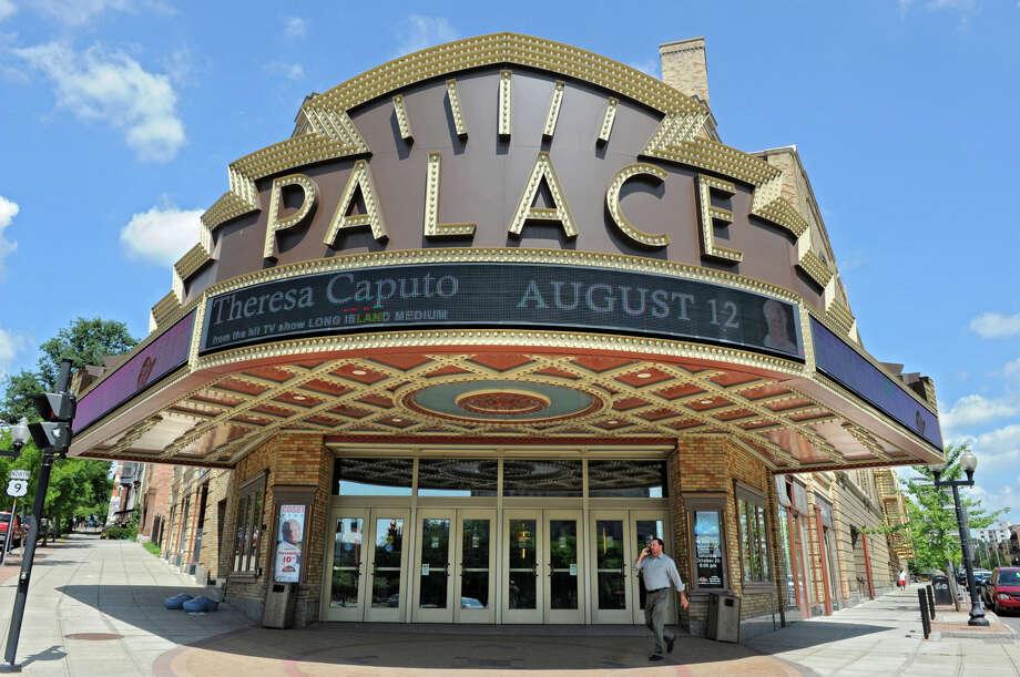 Exterior of the Palace Theatre on Clinton Ave. Thursday, Aug. 2, 2012, in Albany, N.Y. (Lori Van Buren / Times Union archive) Photo: Lori Van Buren / 00018701A
