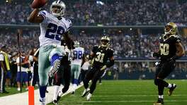 It's no wonder DeMarco Murray has a spring in his step these days. The Cowboys running back has accounted for an NFL-leading 534 yards rushing and scored on the ground in each game during Dallas' 3-1 start.