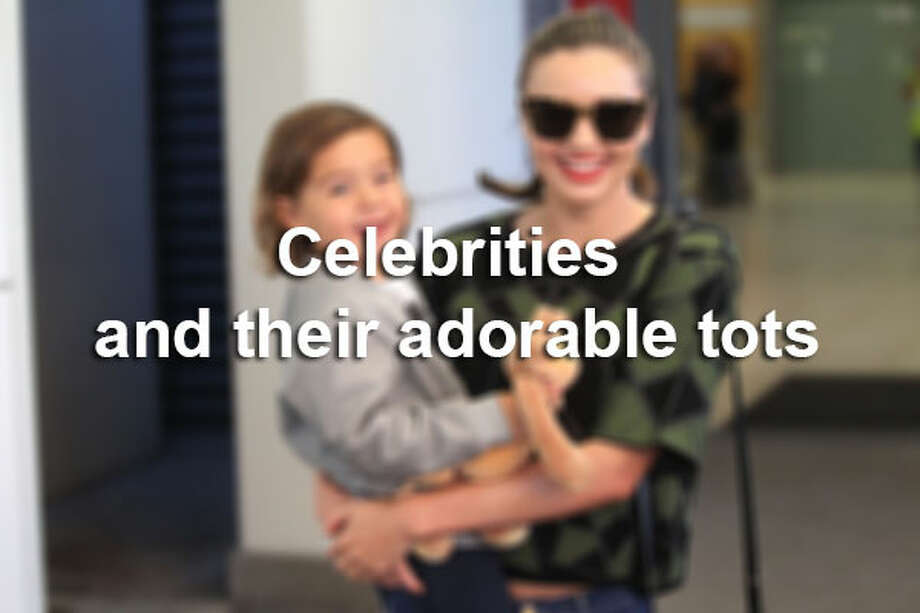 Check out some celebrities and their seriously adorable babies. Source: Wetpaint.com / 2014 Newspix