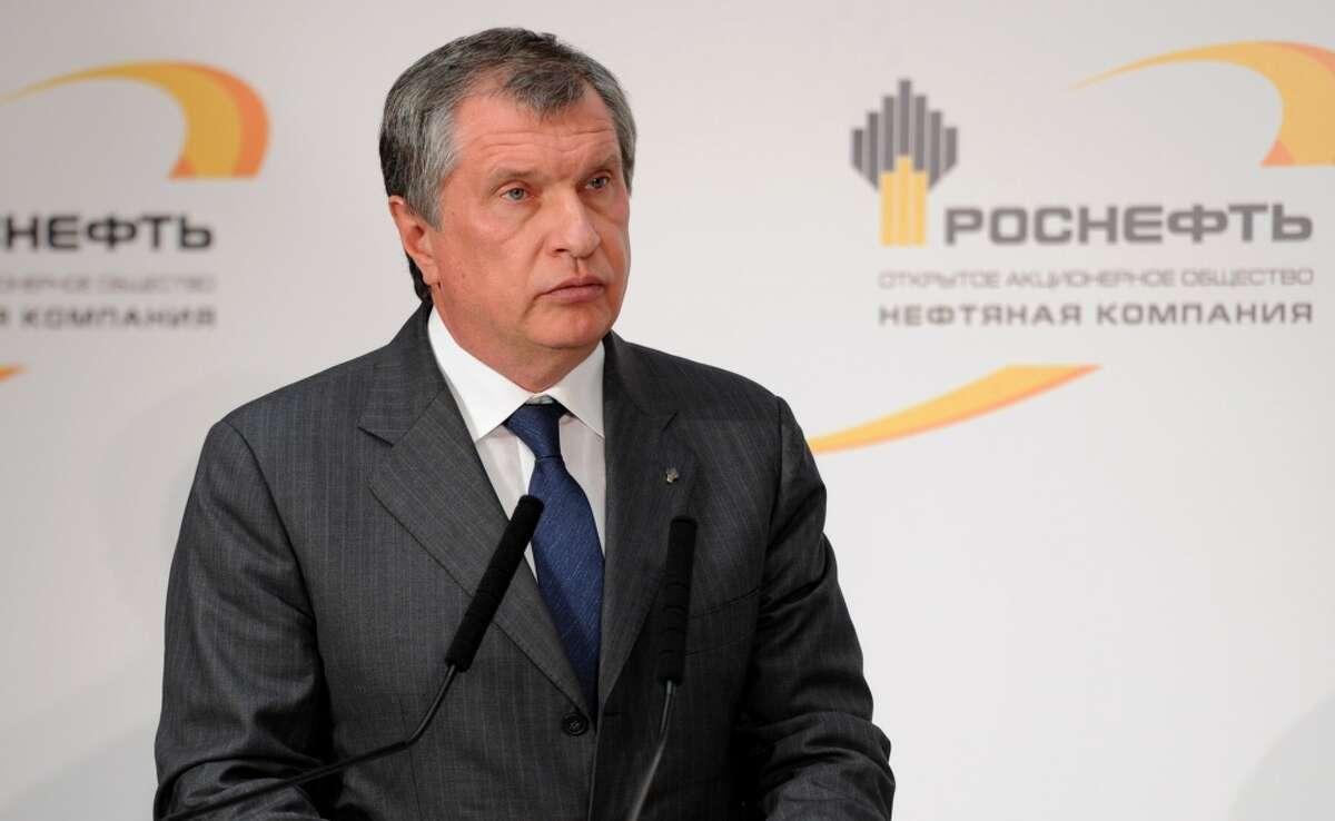 47. Igor Sechin Executive chairman of Rosneft