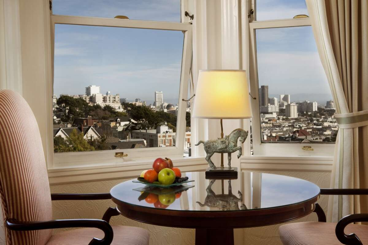 San Francisco's Hotel Drisco earned its spot on Fodor's Top 100 as one of a dozen properties in the