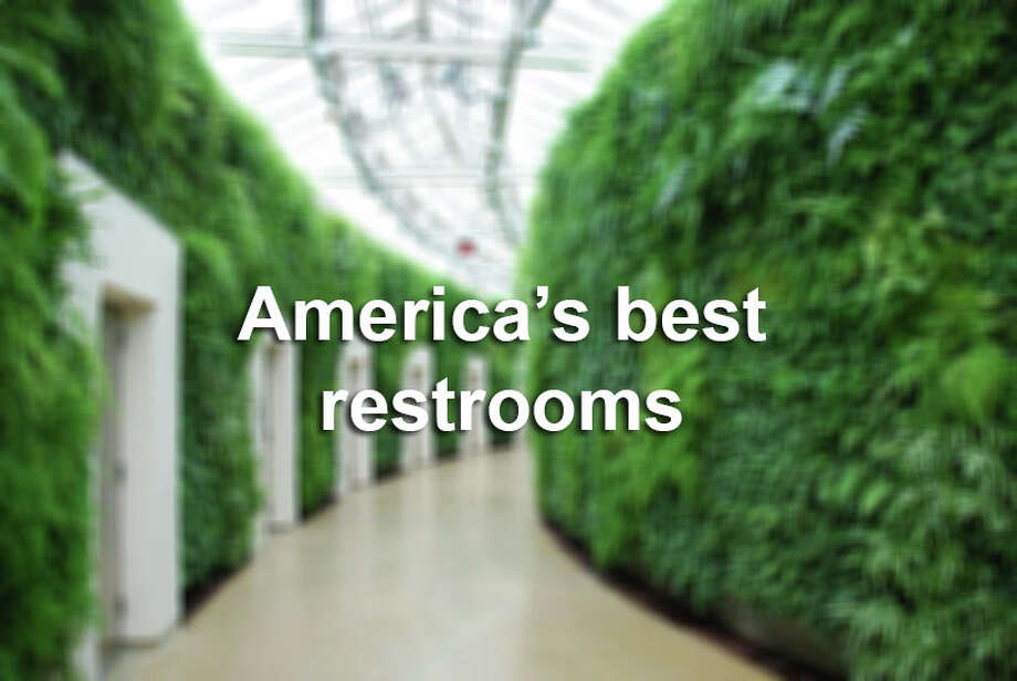 Ten of the best public restrooms in the United States in 2014. Photo: Cintas