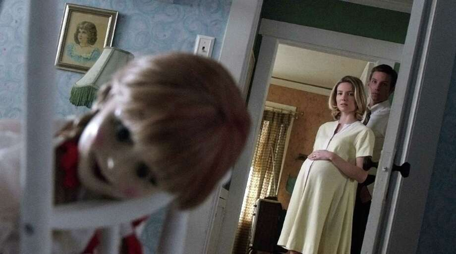 """Annabelle Wallis and Ward Horton play couple Mia and John in """"Annabelle."""" (Warner Bros. Picture/MCT) Photo: Handout, HO / Warner Bros. Picture"""