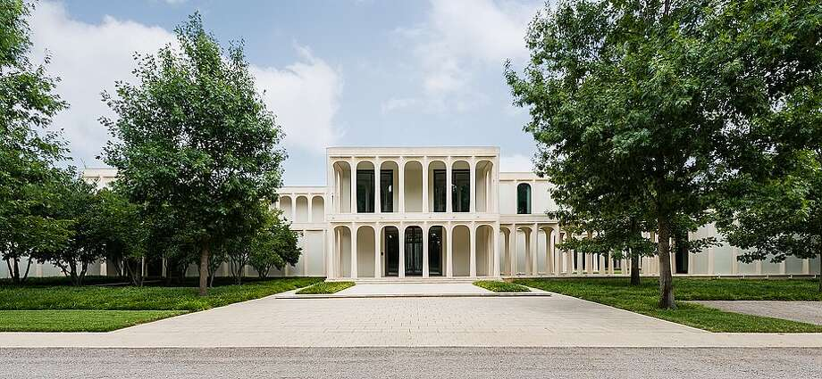 The only house in Dallas designed by legendary architect Philip Johnson is now $23 million. Built in 1963, the mansion in the prestigious Preston Hollow neighborhood has hosted President Barack Obama twice for campaign fundraisers. Photo: Mathews Nichols Group