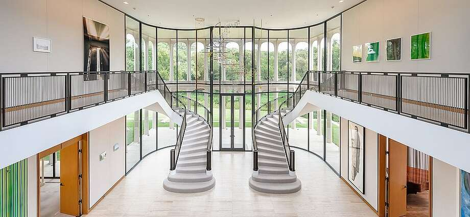 The only house in Dallas designed by legendary architect Philip Johnson was listed last week for a cool $27.5 million. Built in 1963, the mansion in the prestigious Preston Hollow neighborhood has hosted President Barack Obama twice for campaign fundraisers. Photo: Mathews Nichols Group