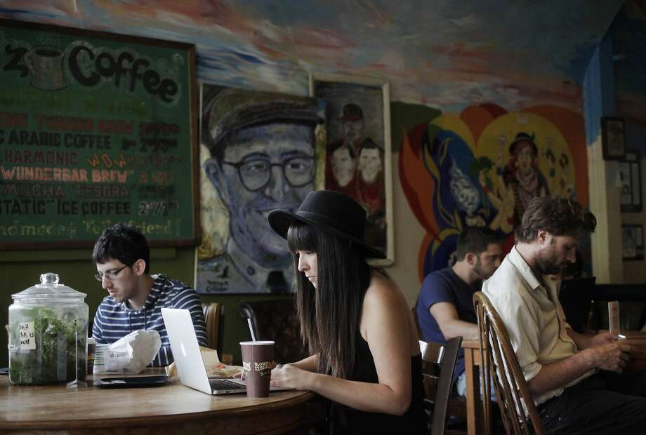 """There are several independent coffee shops serving high-quality brew near your home or office, and you want to be faithful to one. """"I was looking for a new place, and I'm somewhat ashamed,"""" one SFGATE editor said. Photo: Leah Millis, The Chronicle"""
